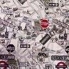 Velké vzory L1 Street London C 13 - 1 Složení této potahové textilie je: 46% polyester, 27% akryl a 27% bavlna. Od potahové textilie Street London C 13 se tato textilie liší odstínem vybarvených plošek. Upozornění: barvy které vidíte na obrazovce se nemusí shodovat se skutečností