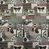 Velké vzory L1 Atajo Ninfa C/70 Materiál: 70% Polyester, 30% Bavlna