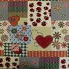 Velké vzory L1 Tribal Gana C/29 Materiál: 70% Polyester, 30% Bavlna