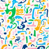 Velké vzory L6 Paper Melodies Jelly Bean