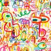 Velké vzory L6 Rainbow Scrawl
